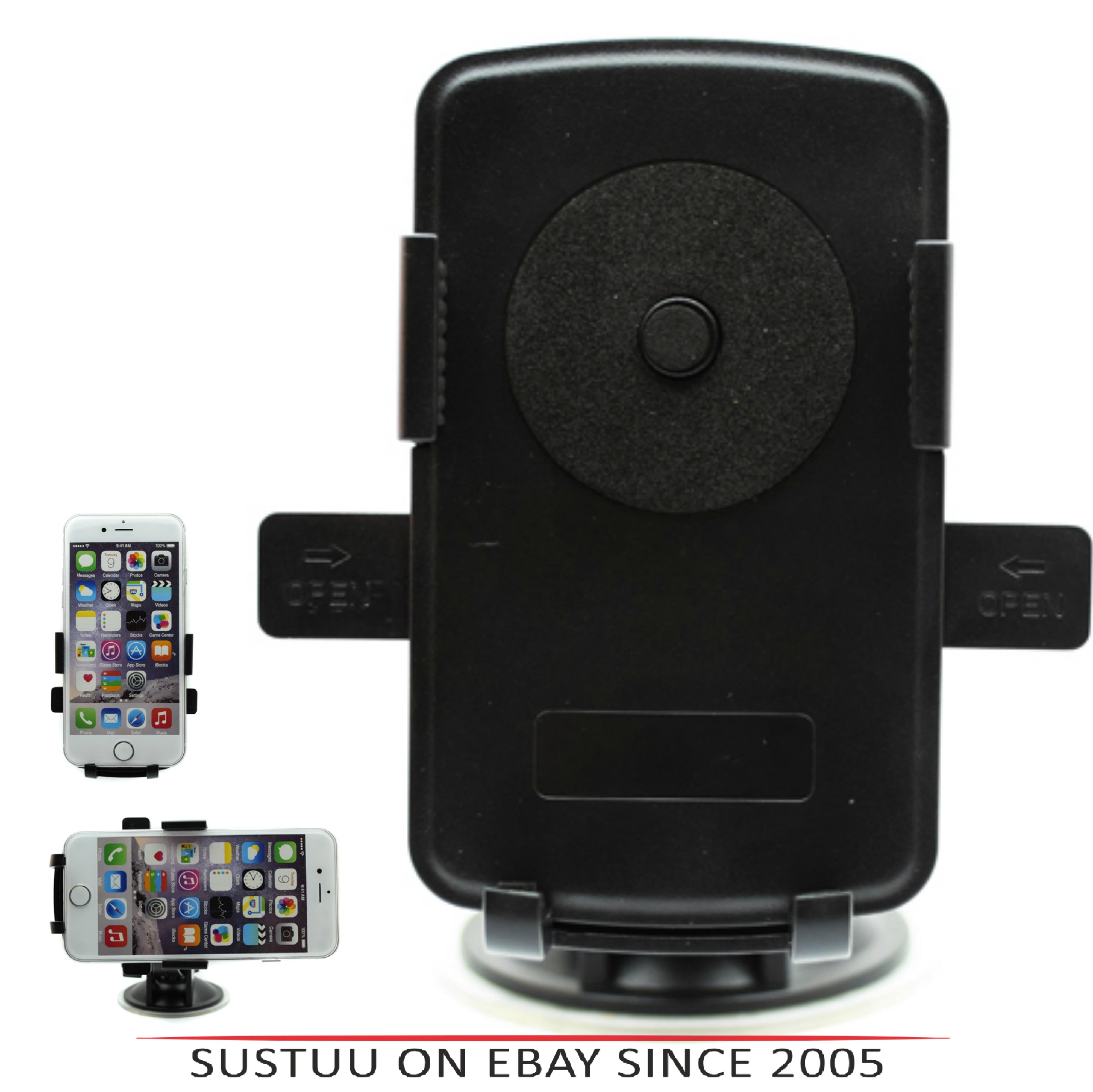 Pama Universal Mobile Phone Window Mount|360°Turn & Lock|Suction Holder/Bracket|*Genuine