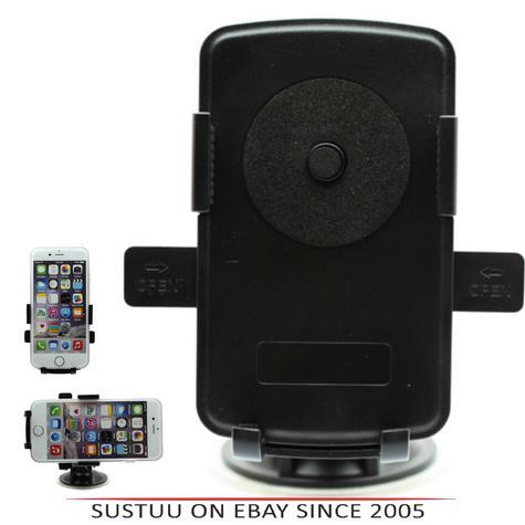 Pama Universal Mobile Phone Window Mount|360°Turn & Lock|Suction Holder/Bracket|*Genuine Thumbnail 1