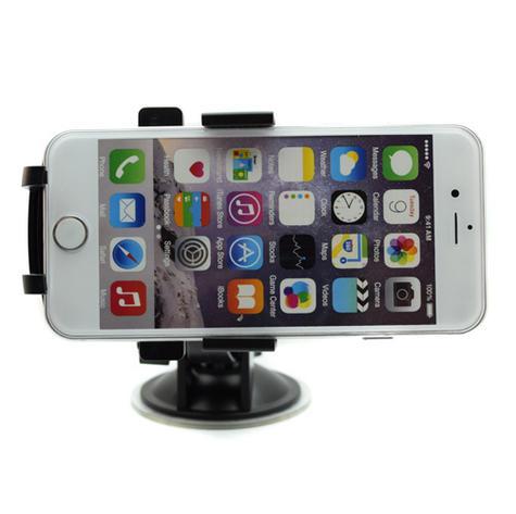 Pama Universal Mobile Phone Window Mount|360°Turn & Lock|Suction Holder/Bracket|*Genuine Thumbnail 6