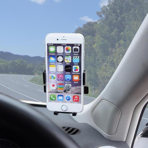 Pama Universal Mobile Phone Window Mount|360°Turn & Lock|Suction Holder/Bracket|*Genuine Thumbnail 7