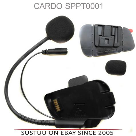 Cardo Scala Rider Microphone / Mic Kit | Motorcycle Helmet Intercom | For PackTalk Thumbnail 1