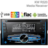 JVC Double DIN Car Stereo | Media Player | Radio | CD | USB/Aux | Android | MP3 | Illumination