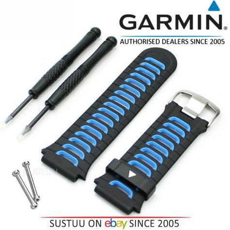 NEW Garmin 010-11251-41 Replacement Watch Band Strap?Forerunner 920XT?Blue/Black Thumbnail 1