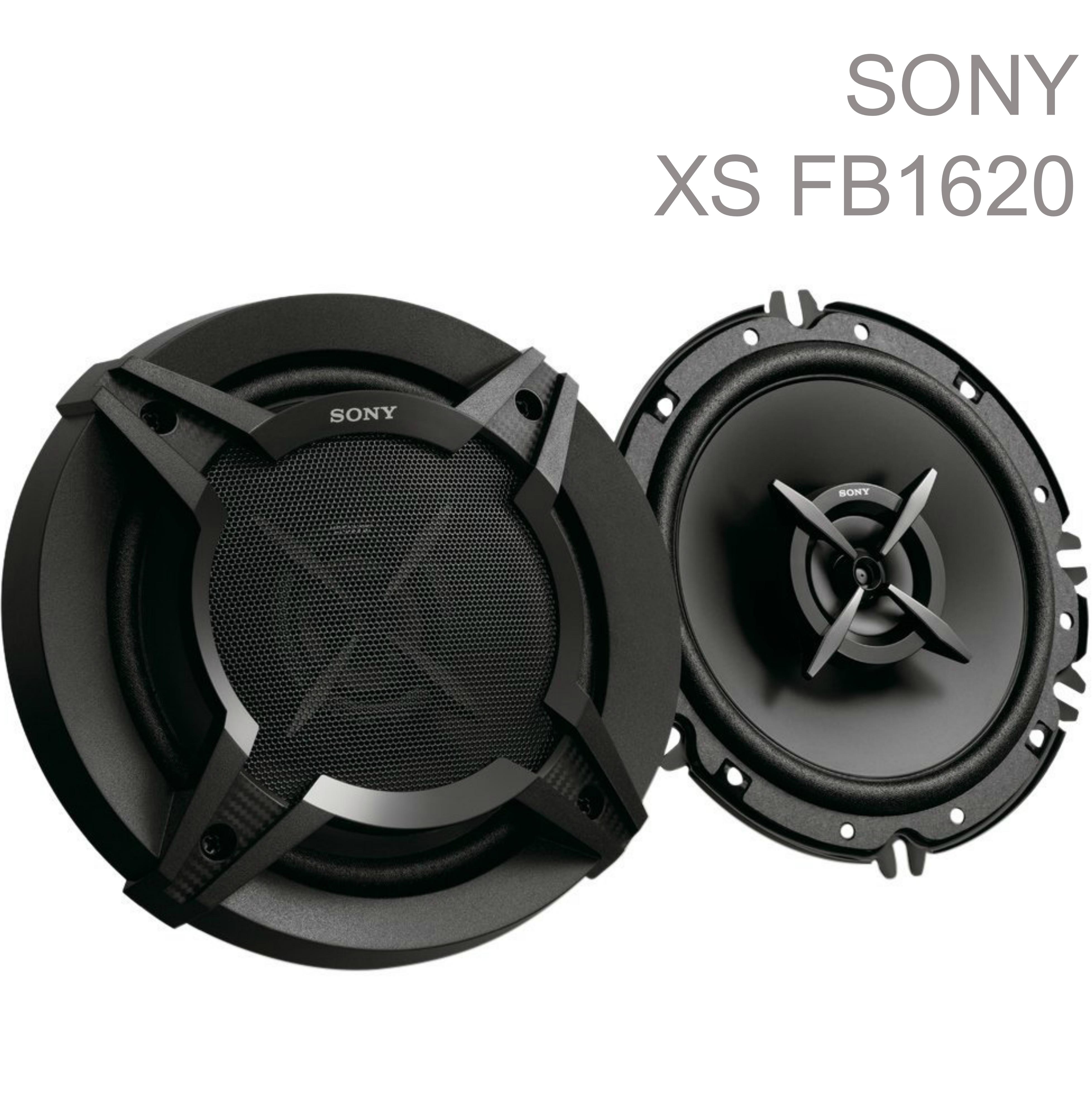 Sony XS FB1620 16cm 2 Way 260 Watts high performance Car Door Coaxial Speakers