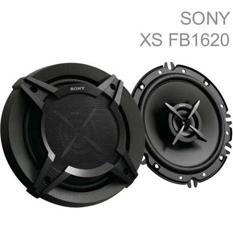 Sony XS FB1620 16cm 2 Way 260 Watts high performance Car Door Coaxial Speakers Thumbnail 1