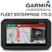 Garmin Fleet Enterprise 770 D GPS SatNav | Lifetime Maps Update Of Europe | 3yr WTY