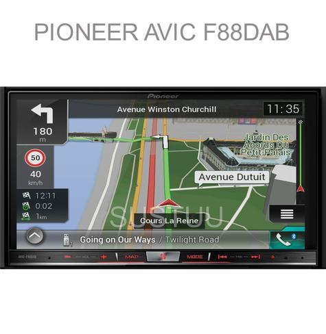 "Pioneer 2DIN 7"" GPS Satnav + DAB Stereo|Apple Car Play-Android Auto|Live Traffic Thumbnail 1"