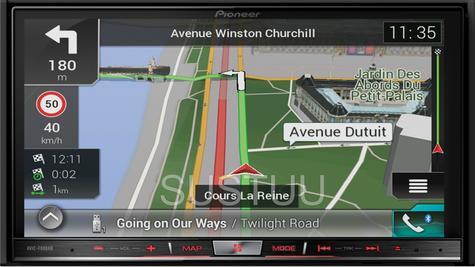 "Pioneer 2DIN 7"" GPS Satnav + DAB Stereo|Apple Car Play-Android Auto|Live Traffic Thumbnail 2"