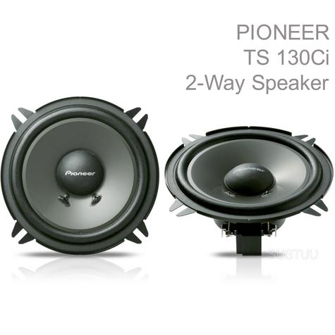 NEW Pioneer TS 130CI 13cm 190W Separate 2-Way Components Car Speakers System Thumbnail 1