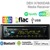 Pioneer Car Stereo | Media Player | DAB+ Radio | CD | Bluetooth | USB | iPod-iPhone-Android