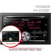 Pioneer In Car Stereo Player?2DIN?CD?USB?Aux?Bluetooth?iPod-iPhone-Android?illum
