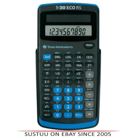 Texas Instruments 30RS/TBL/5E1 Power Scientific Calculator|Solar Battery|10Digit Thumbnail 1