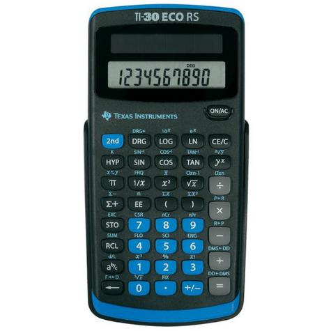 Texas Instruments 30RS/TBL/5E1 Power Scientific Calculator|Solar Battery|10Digit Thumbnail 2