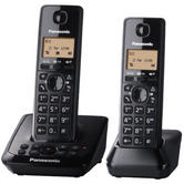 Panasonic Digital Cordless Telephone with Answer System - Twin