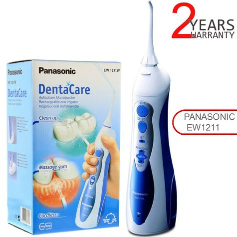 Panasonic Rechargeable Flosser-Waterjet | DentaCare Oral Irrigator | Cordless | EW1211 Thumbnail 1
