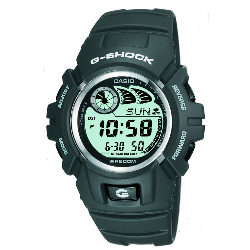 Casio G-2900F-8VER G-Shock Watch / e-Databank / Resin Case / Shock-resistant / Dark Grey