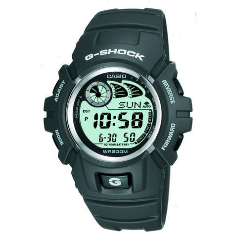 Casio G-2900F-8VER G-Shock Watch / e-Databank / Resin Case / Shock-resistant / Dark Grey Thumbnail 1