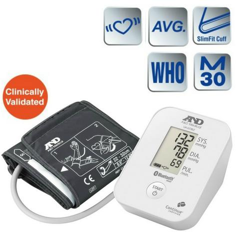 A&D Medical UA651BLE Deluxe Blood Pressure Monitor w/ Bluetooth Smart Technology Thumbnail 1