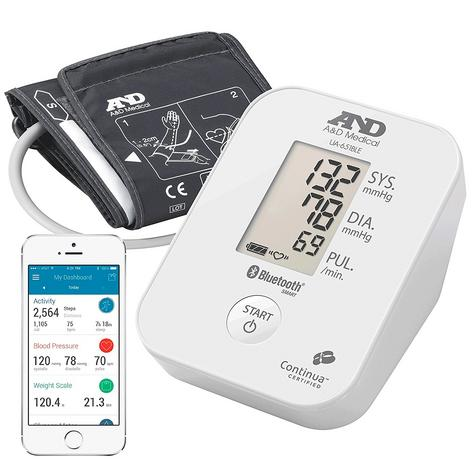 A&D Medical UA651BLE Deluxe Blood Pressure Monitor w/ Bluetooth Smart Technology Thumbnail 2