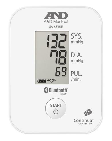 A&D Medical UA651BLE Deluxe Blood Pressure Monitor w/ Bluetooth Smart Technology Thumbnail 3