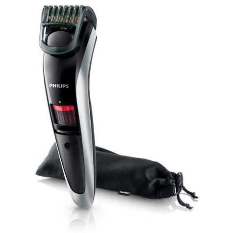 Philips 3000 Series-QT4013/23?Mens Rechargeable Cordless Trimmer?Beard+Mustache Thumbnail 1