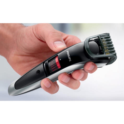 Philips 3000 Series-QT4013/23?Mens Rechargeable Cordless Trimmer?Beard+Mustache Thumbnail 3