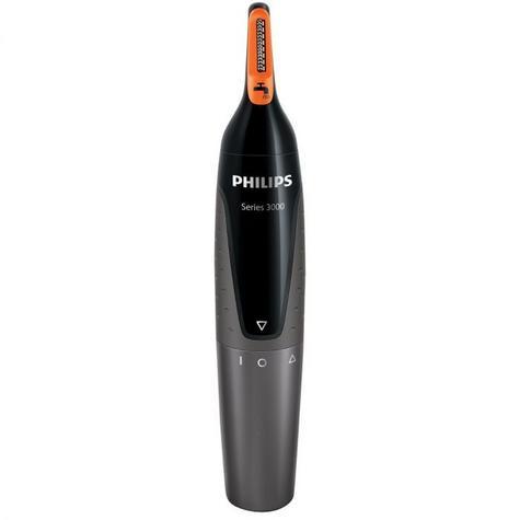 Philips 3000 Series Mens Nose/ Ear/ Eyebrow Hair Foil Trimmer?GroomingKit?NT3160 Thumbnail 8