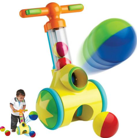 Tomy E71161 Pick N Pop Walker|Fun Proper Walker|Indoor-Outdoor|5 Balls|18M+|New Thumbnail 1