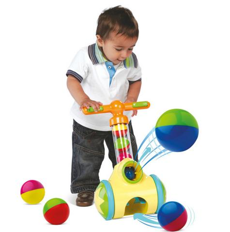 Tomy E71161 Pick N Pop Walker|Fun Proper Walker|Indoor-Outdoor|5 Balls|18M+|New Thumbnail 3