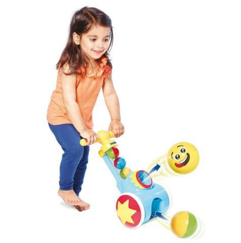 Tomy E71161 Pick N Pop Walker|Fun Proper Walker|Indoor-Outdoor|5 Balls|18M+|New Thumbnail 4