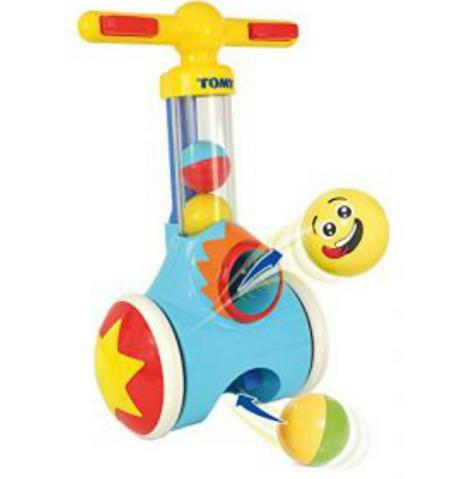 Tomy E71161 Pick N Pop Walker|Fun Proper Walker|Indoor-Outdoor|5 Balls|18M+|New Thumbnail 5
