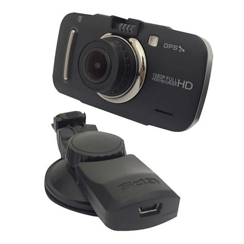 "Silent Witness SW006 3"" LCD Full HD Dash Camera