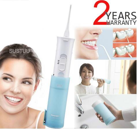 Panasonic Portable Dental|2 Speed Water Jet Flow Flosser Oral Irrigator|EWDJ10| Thumbnail 1