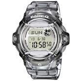 Casio Ladie's  BG169R-8ER Baby-G Watch / Alarm / Water Resist / Date Function / Grey
