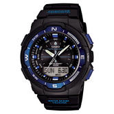 Casio SGW500H-2BVER Mens Sports Watch|Analogue Digital Display|Thermometer|100M
