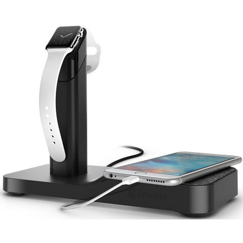 Griffin GC41633 Watch Stand Charging Station for Apple Watch / iPhone / iPad  Thumbnail 4