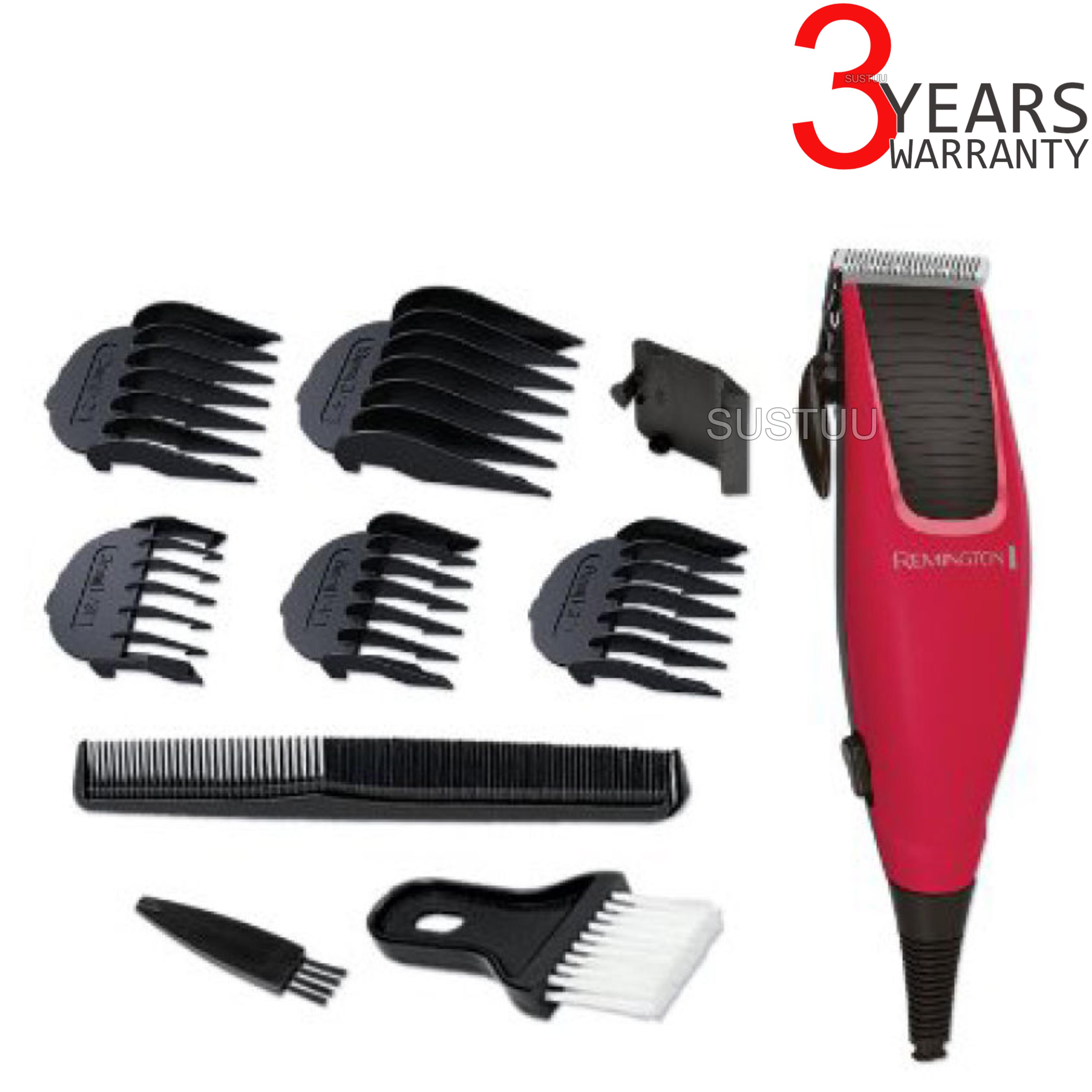 Remington HC5018 Apprentice Corded 10 piece Men's Electric Hair Clipper Shaver