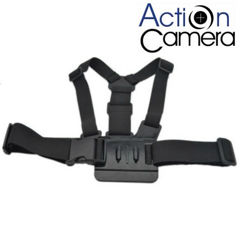 Action Camera Strong Adjustable Chest Harness Strap For Action Cameras ACCH1 NEW Thumbnail 1