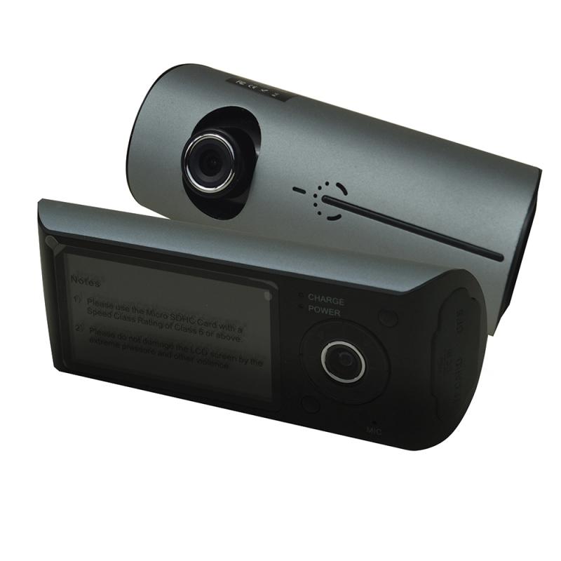 Silent Witness SW011 Dash Camera|Dual Facing|Precision GPS In-Car Recorder|Black