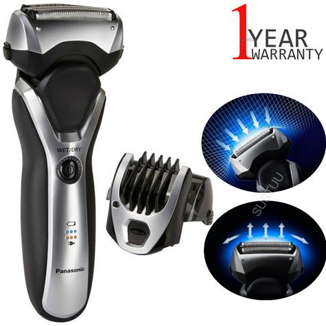 Panasonic ESRT47S 3-Blades Men's Electric Smooth Shaver|Washable|Wet/Dry Use|NEW Thumbnail 1