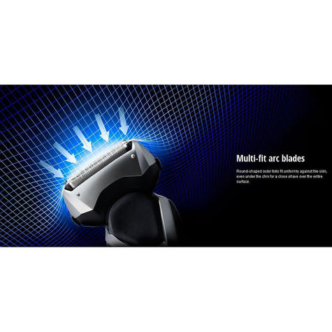 Panasonic ESRT47S 3-Blades Men's Electric Smooth Shaver|Washable|Wet/Dry Use|NEW Thumbnail 6
