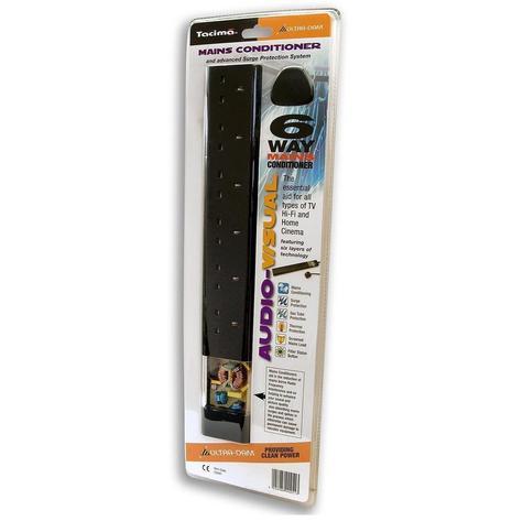 Tacima CS947 6 Way Mains Conditioner & Advanced Surge Multi Protection System Thumbnail 4