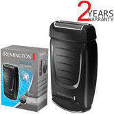 Remington Dual Foil Travel Electric Shaver | Men's Hair Removal | On/off Switch | TF70