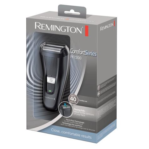 Remington PF7200 Comfort Series Dual Foil Elecric Shaver|Rechargeable|Cordless| Thumbnail 3