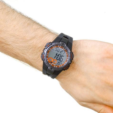 Timex Men's T5K423 Marathon Quartz Watch|LCD Dial|Digital Display|Black Resin| Thumbnail 5