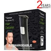 Lloytron Paul Anthony 'Pro Series T2' Cordless Hair Detailer | Black | H5118BK | NEW