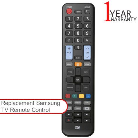 One For All URC1910 Replacement Universal TV Remote Control For All Samsung TV's Thumbnail 1