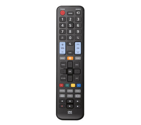 One For All URC1910 Replacement Universal TV Remote Control For All Samsung TV's Thumbnail 3