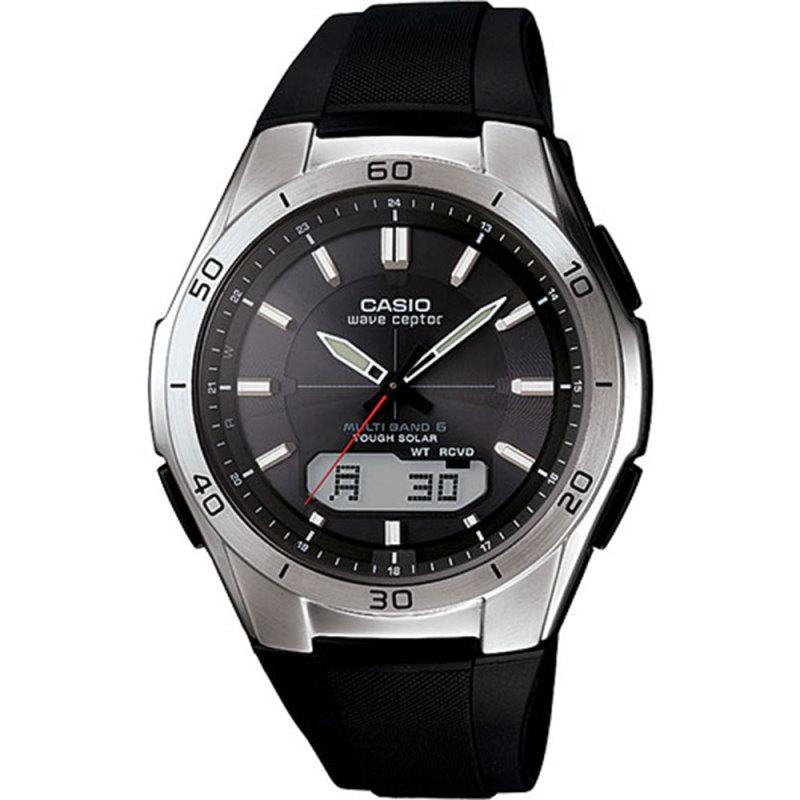 Casio WVA-M640-1AER Men's Wave Ceptor Radio Controlled Solar Watch|LED|100M WR|