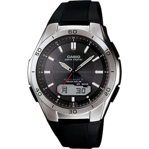 Casio WVA-M640-1AER Men's Wave Ceptor Radio Controlled Solar Watch|LED|100M WR| Thumbnail 1